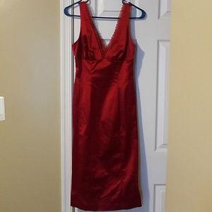 Red Bebe Cocktail Dress